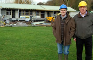 Henley Cricket club - supported by Elegant Homes