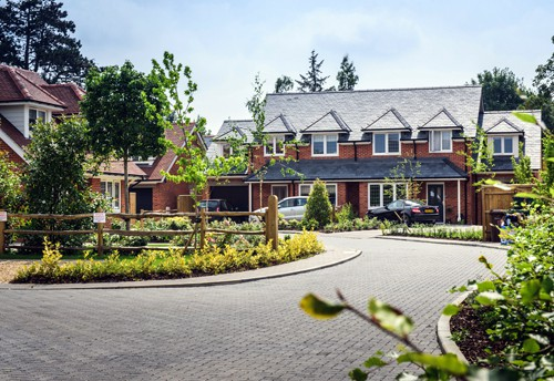 An Elegant Homes housing development
